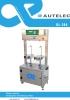 Autelec DL-294 - Envasadora de aceite por peso