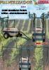 Pulverizadores arrastrados 400 L. con barras para viña y espárragos