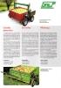 Carro portacajas eléctrico para frutales