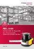 Escáner láser de seguridad con 2 funciones de protección independientes - RSL 400