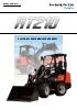 Cargadora articulada sobre neumáticos KUBOTA RT210