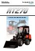Cargadora articulada sobre neumáticos KUBOTA RT270