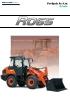 Cargadora articulada sobre neumáticos KUBOTA R065