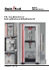 Allround-Line materials testing machines and testControl II electronics