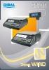 Catálogo balanzas DIBAL Serie Wind (Gama 500)