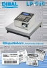 Catálogo etiquetadoras manuales DIBAL LP-545
