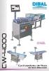 Catálogo controladores de peso automáticos DIBAL CW-4000