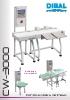 Catálogo controladores de peso automáticos DIBAL CW-3000
