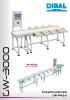 Catálogo clasificadores automáticos por peso DIBAL GW-3000