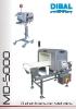 Catálogo detectores de metales DIBAL MD-5000