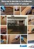 Guía para la elección de los adhesivos para la colocación del parquet