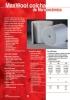 Manta 1260ºC o 1430ºC fibra cerámica MaxWool