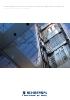 Interruptores para ascensores, escaleras eléctricas y elevación - Folleto para el sector industrial