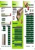 Listones y perfiles de abeto y pino