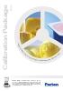 Paquete de calibraciones para industria láctea DA 7250 (ENG)