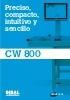 Catálogo controladores de peso automáticos DIBAL CW 800
