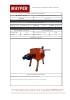 Ficha técnica Centrifugadora MAC-40