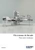 Catálogo de envasadoras de líquidos de la gama FSL