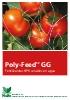 Fertilizantes NPK sólidos solubles con micronutrientes: Poly-Feed GG