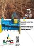 Trituradora con pick-up desplazable TS Shift de Omat