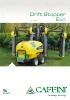 Pulverizador con paneles recuperadores Drift Stopper