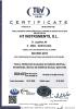 Certificado de calidad ISO9001:2015 válidez hasta el 2021