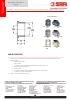 VALVULAS SAFI Fittings para válvulas de bola y de retención TDS-EQUIP-3101-00-EN