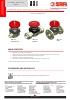 VALVULAS SAFI Válvulas de diafragma PVC-U PPH PVDF DN15 a DN50 (TDS-DIAPH-2300-00-EN)