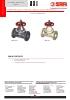 VALVULAS SAFI Válvulas de diafragma bridadas PVC-U PPH PVDF DN65 a DN250 (TDS-DIAPH-3200-00-EN)