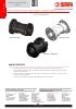 VALVULAS SAFI Válvulas de retención con cono y resorte PPGF PVDF  DN25 A DN50 (TDS-NRETU-2001A-00-EN)