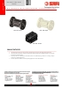 VALVULAS SAFI Válvulas de retención con cono y resorte PPGF PVDF DN15 a DN20 (TDS-NRETU-2001-00-EN)