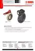 VALVULAS SAFI Válvulas mariposa PVC-U PVC-C PPH PVDF DN50 a 200 (TDS-BUTT-3600-00-EN)