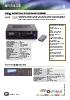 Amplificador de 240 W con selector de 6 zonas / A-065M