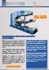 Bordonadora automática hidráulica para fondos - Modelo BF