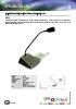 Conjunto de pupitre microfónico con altavoz - SIV-40