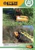Desbrozadoras - Trituradoras hidráulicas Berti - en punta de retro - serie NKR/SB