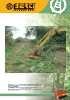 Trituradoras forestales hidráulicas Berti - en punta de retro - serie PARK/FX