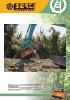Trituradoras forestales hidráulicas Berti - en punta de retro - serie TFX/SB