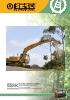 Trituradoras forestales hidráulicas Berti - en punta de retro - serie ECF/SB