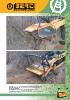 Trituradoras frontales forestales hidráulicas Berti - serie MX/SSL