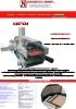 HEKTOR Encuadernadora de tapas automática