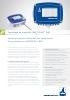 Registrador de valores críticos del aire comprimido METPOINT BDL
