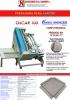 OSCAR100 Fresadora para cartón