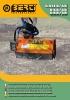 Desbrozadoras - Trituradoras hidráulicas Berti - en punta de retro - series GREEN/SB - NKR/SB - GKR/SB