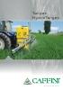 Pulverizadores suspendidos Mod. Target / HydroTarget