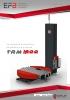 Envolvedora automática de plataforma giratoria TRM1500