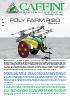 Pulverizador arrastrado - Poly Farm Riso