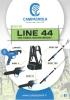 LINEA 44 - Tijeras eléctricas y atadora con batería multifunción única