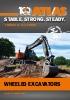 Catálogo Excavadoras Ruedas ATLAS GmbH
