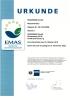Certificado EMAS - Bad Homburg